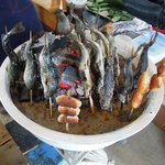 ガンコ炭火焼 あきもと - 料理写真:にじます炭火焼