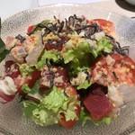 和膳と酒肴 廚 - 海鮮サラダ