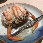 和膳と酒肴 廚 - 香箱蟹
