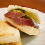 97865080 - 〆鯖のサンドイッチ