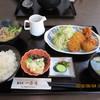 一舟庵 - 料理写真:本日の日替わりサービス「ミニとんかつ1ケ、からあげ3ケ、そば 900円」
