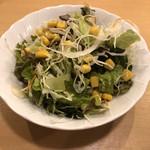 餃子市場 - サラダはビッグサイズ