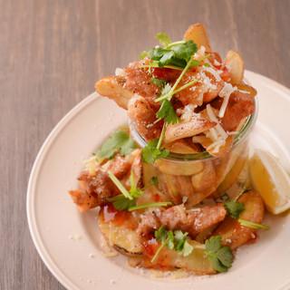 地元の野菜やお肉を、美味しくヘルシーな一皿にてご提供