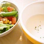 カフェ・プチ・コパン - やたらと器の大きいスープ