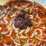福来麺菜館 - ラー油投入~♪