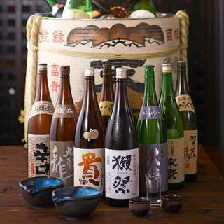 日本酒飲み放題は充実◆12種◆