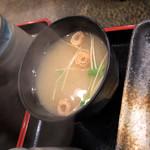 江戸幸 - お味噌汁