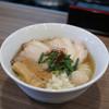 実垂穂 - 料理写真:無添加魚介出汁 中華そば 塩(上)☆