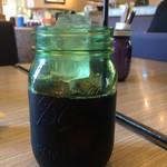 カフェ・ダウニー - 食後のアイスコーヒー