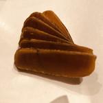 地鶏割烹 稲垣 - 自家製カラスミ