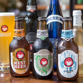 定番からひと味違ったものまで、多彩なクラフトビールをご用意