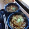 道の駅つちゆ - 料理写真:たぬきそば、天ぷらうどん