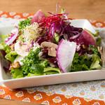 パークサイドカフェ - 季節野菜のサラダ
