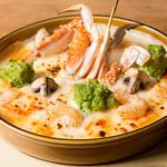 パークサイドカフェ - 小海老と蟹クリームドリア