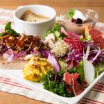 パークサイドカフェ - 15種野菜のガーデンプレート2018冬