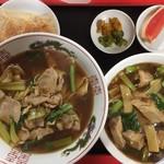 97892451 - 豚肉麺 豚角煮飯