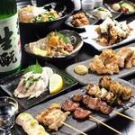 串かつ・炭火焼鳥・鶏ちゃんこ鍋 TSURUGI -