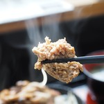 三國 - 料理写真:和風ハンバーグアップその3