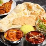 インド料理ムンバイ四谷店+The India Tea House - タンドリーチキンランチ