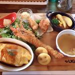 UG - 料理写真:UGの大人様ランチ♡¥1800(税抜)