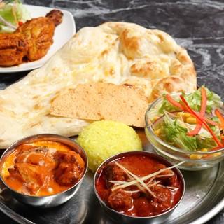 インド大使館御用達の本格インド料理