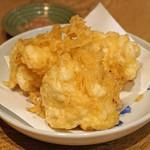 つぬけ - 白子の天ぷら