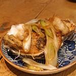 つぬけ - 牡蠣のバター焼