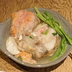 つぬけ - 痛風鍋  あんこう、あんきも、白子、牡蠣入り