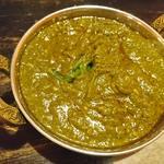 インド食堂ビジエさんのカリー屋1丁目 - ほうれん草カレー