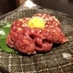 サボテン - 桜ユッケ