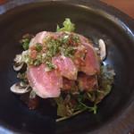 居酒屋 ネコ - ネコサラダ(自家製ベーコン入り)