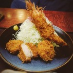信州とんかつとんこ - 料理写真:一番人気!とんこ御膳です。