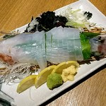 個室 九州料理 弁慶 - 泳ぎイカ(大) 3,360円