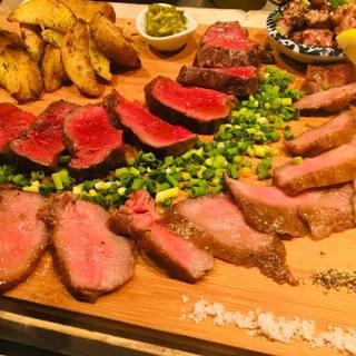 鳥・豚・牛・ジビエ等々シェフ厳選の様々な肉料理♬