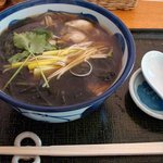 蓬 - 牡蠣蕎麦1200円