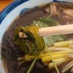 蓬 - 牡蠣蕎麦・昆布ソーメン