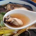 蓬 - 牡蠣蕎麦・牡蠣
