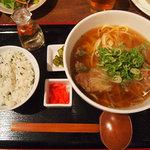 9791663 - 【ランチ】 沖縄そばランチ \780