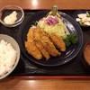 とんかつ 三金 - 料理写真:カキフライ定食  1700円