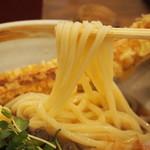 活麺富蔵 - 煮肉温泉玉子ぶっかけ(うどん)