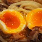 活麺富蔵 - 竹玉天トッピング(玉天)