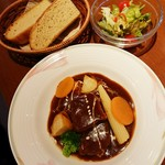 レストラン&テイクアウト memere - ビーフシチューセット 1,600円
