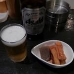 串壱徹 - 瓶ビールとおとおし