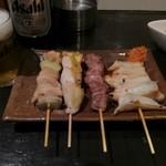 串壱徹 - 串焼き4本