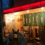 大衆馬肉酒場 ジョッキー - お店の外観 201812