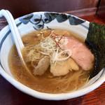 麺心 あしまる - らーめん塩 750円
