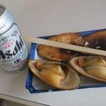 山田屋 - 缶ビールも飲みました