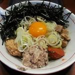烈火 - 【山形ひっぱり混ぜそば】¥850