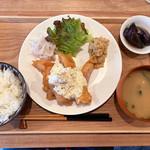97913045 - 鶏むね肉南蛮定食 ¥850