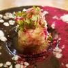 東 - 料理写真:ズワイ蟹とタラの白子